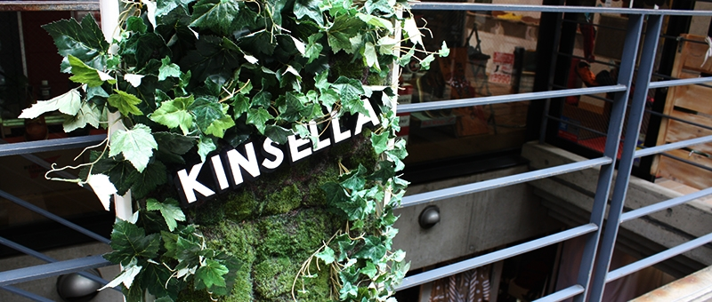 【SHOP CLOSE UP!!】KINSELLA