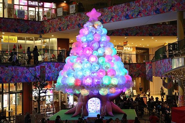 アスナル金山のクリスマスツリー...