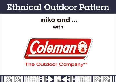 「Coleman」×「niko and …」、フェス・キャンプにぴったりなアウトドアコラボ商品が新登場!