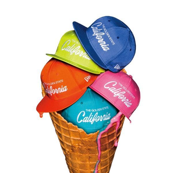 ポップなアイスクリーム?!ニューエラ、真夏のビーチシーンにぴったりなカラフルハットが新登場!