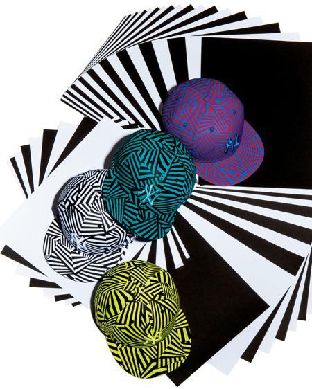 ニューエラの新作はモードにぴったり! サイケデリックな迷彩柄のヘッドウェアが発売