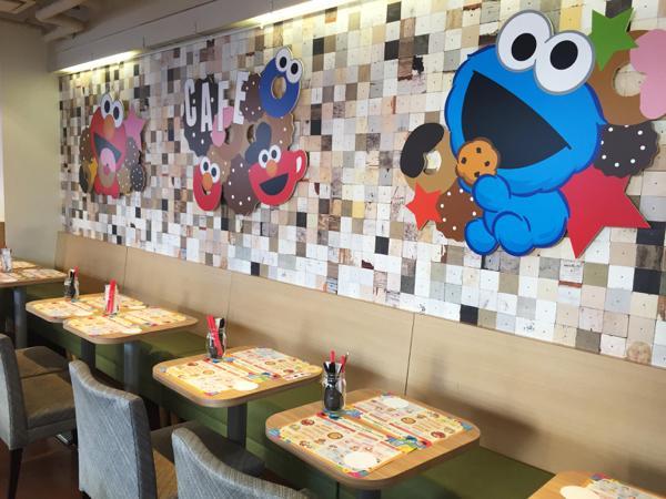 セサミストリートがカフェとコラボ! 「エルモとゆかいな仲間たち cafe」が原宿・竹下通りにオープン