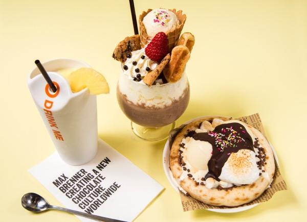 マックスブレナー、夏の新メニューは冷たいチョコスイーツ♡ アイスチョコレートピザなど注目のメニューが登場