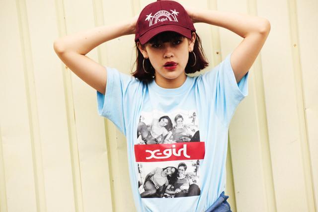 X-girlが鬼才の映画監督とコラボしたアイテムが発売! Tシャツやバッグなど5種