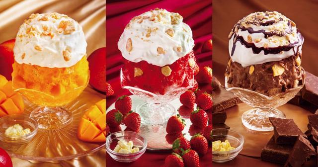 パブロの「チーズタルトかき氷」に贅沢な新作フレーバー3種が登場!