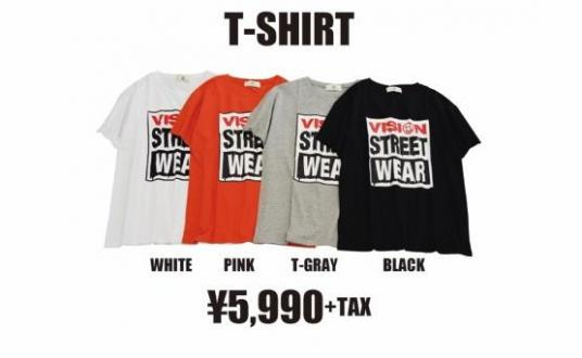 「VISION STREET WEAR × WORLD WIDE LOVE!」のコラボ商品が発売!