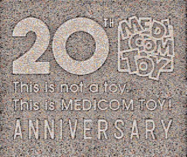 ベアブリックの歴史を辿る…! 「メディコム・トイ」が20周年展覧会を表参道ヒルズで開催!