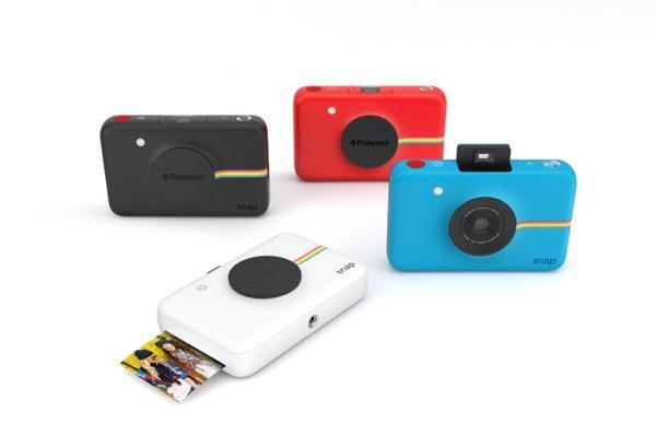 撮った写真をデータ保存もOK! 最新ポラロイドカメラ「Polaroid Snap」発売開始