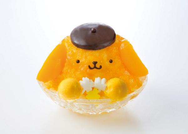 ポムポムプリンが可愛いカキ氷になっちゃった! 「ポムポムプリンカフェ」で夏季限定発売