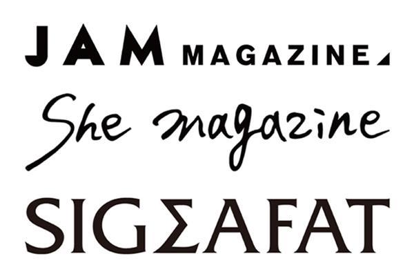 アソビシステムから新たに3つのウェブマガジンが誕生! 「JAM MAGAZINE」「She magazine」「SIGMAFAT」オープン