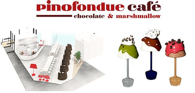 """「ピノアイス」を自由な味にフォンデュして楽しむ、""""ピノフォンデュ"""" カフェが原宿にオープン!"""