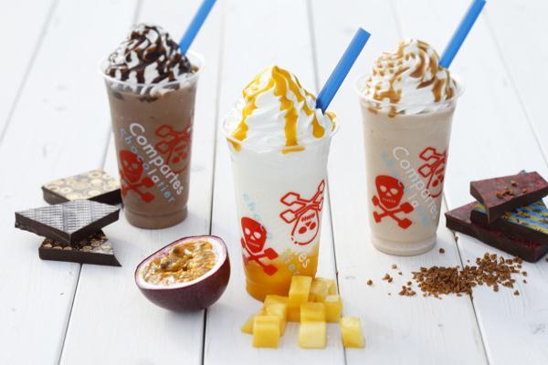 コンパーテス ショコラティエからチョコレートドリンク「ラブフローズン」が発売! 夏らしい爽やかなフレーバー
