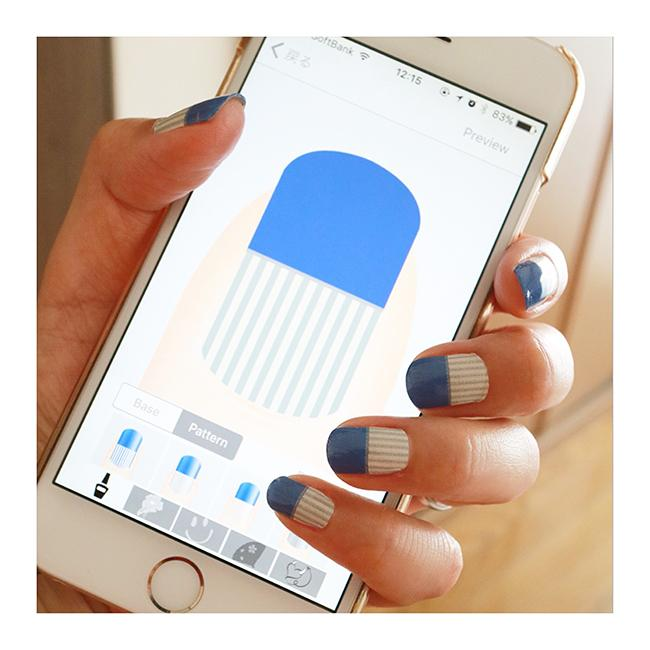 スマホでネイルをつくる!? 本格ネイルシールをデザインするiPhone専用アプリNaisealが登場!
