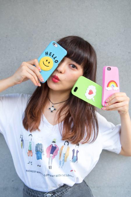 モデル・菅沼ゆり監修のiPhoneケースが発売! キュートなデザインのアイテムが勢揃い