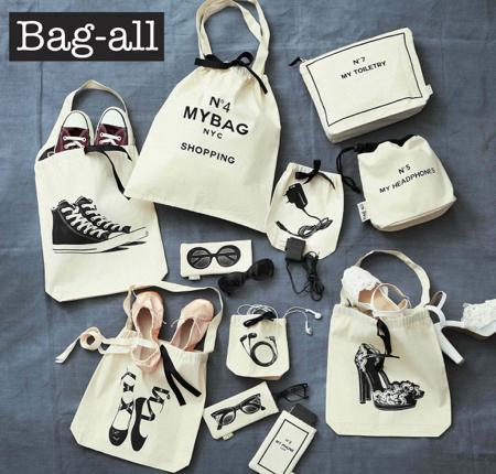 ニューヨーク発のコットンバッグ「Bag-all」に新作が登場! 遊び心あるデザインに注目