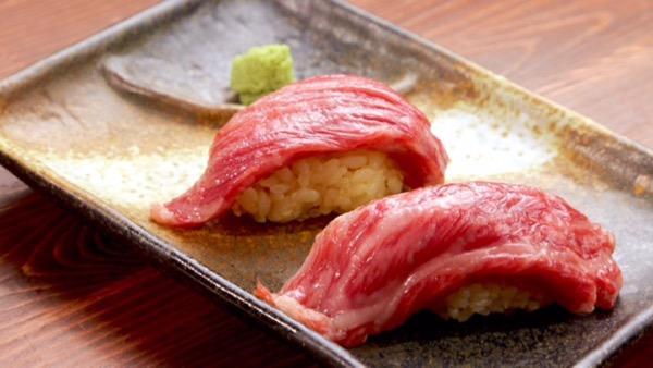 渋谷肉横丁で山形牛など「ブランド牛」の肉寿司が29円で食べられる!?
