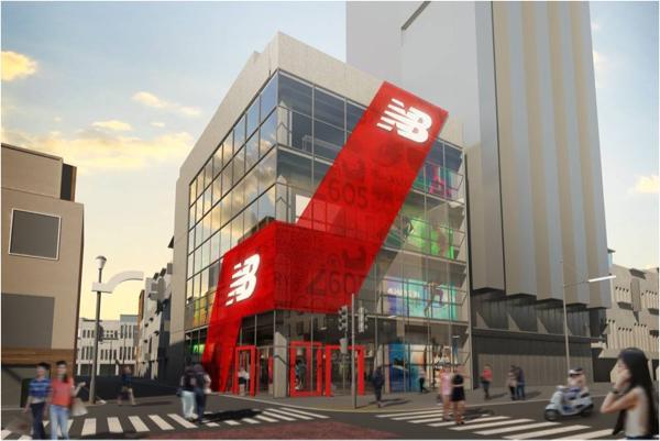 世界最大級のニューバランス直営店が原宿に11月オープン!
