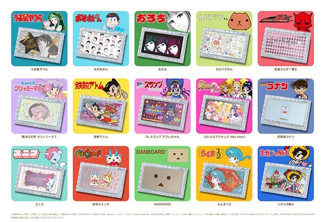 おそ松さんや魔法の天使 クリィミーマミなど、懐かし可愛いキャラのフェイスパウダーが全15種類も発売!