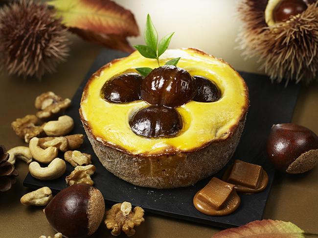 焼きたてチーズタルト専門店「PABLO」からマロンの風味香る秋限定のミニチーズタルトが10月1日より発売開始