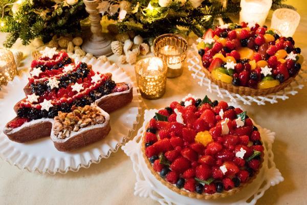 フルーツタルト専門店「キル フェ ボン」が クリスマスケーキの予約受付を10月17日より開始!