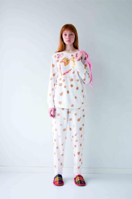 大人かわいい世界観の「tsumori chisato SLEEP」から 20周年記念パジャマが発売