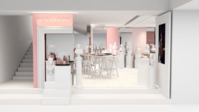 「バーバリービューティボックス」が期間限定で新宿にオープン! 人気メイクアップアーティスト・イガリシノブも登場