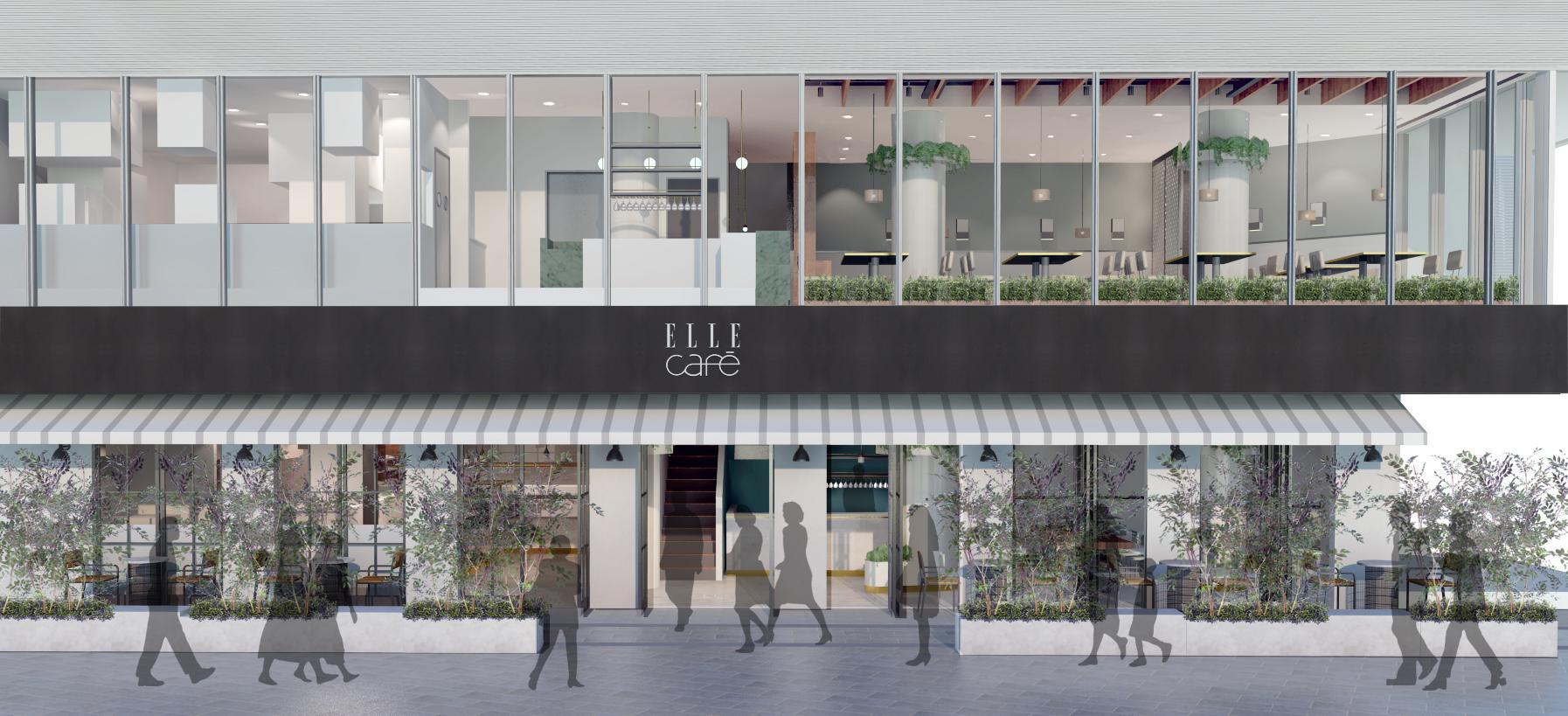 マドンナも愛したシェフのヘルシーグルメ登場!ELLE caféが旗艦店「ELLE café Aoyama」をオープン!