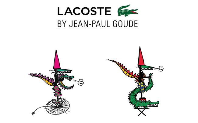 LACOSTEがジャン=ポール・グードとコラボ! 「LACOSTE BY JEAN -PAUL GOUDE」が登場