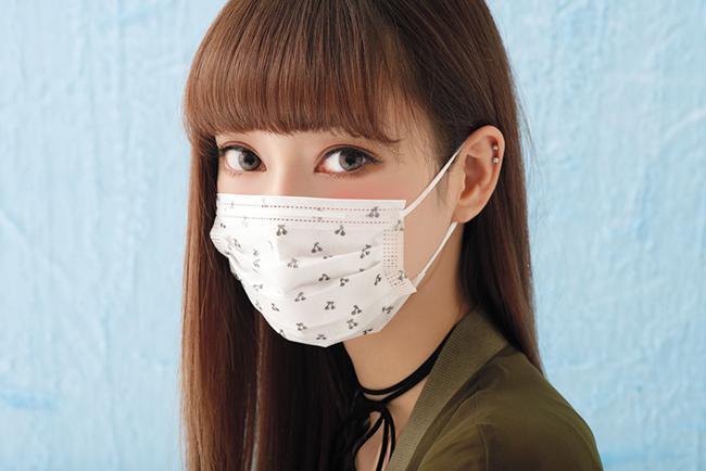 TECMASKと人気モデル中村里砂がコラボ! キュートなマスクが登場♡