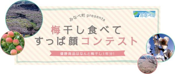 優勝者にはなんと梅干し1年分プレゼント! 南高梅で有名な和歌山県みなべ町主催 「梅干し食べてすすっぱ顔コンテスト」開催中
