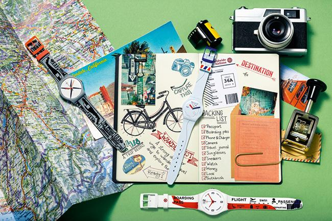SwatchのSpring-Summer Collection第1弾がお目見え! 旅をテーマにした「A Traveler's Dream」と原点回帰の「Time to Swatch」