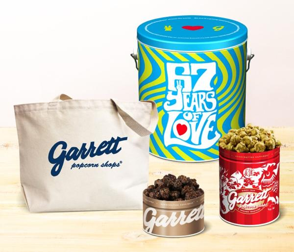 レア商品が詰まった「2017 Garrett 福缶」がギャレット ポップコーンから発売