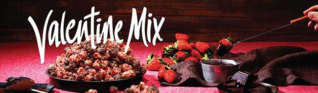 ギャレット ポップコーンからバレンタインに贈るピンクの「Valentine Mix」が期間限定で登場