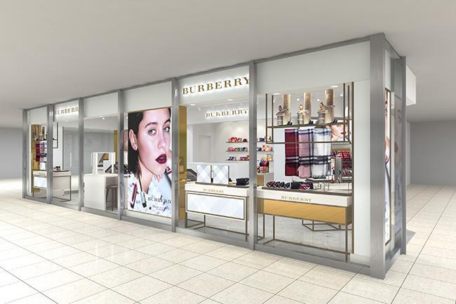 バーバリー ビューティ ボックスがルミネ横浜店にオープン! メイクアップアイテムやホームコレクションなど幅広いラインナップで登場