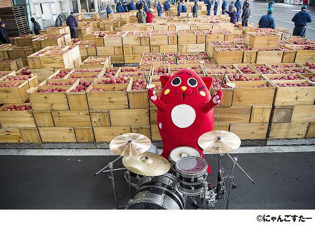 ドラムの超絶テクで有名なゆるキャラ参上! 「にゃんごすたー祭りinキデイランド」 4月22日〜5月5日まで開催!