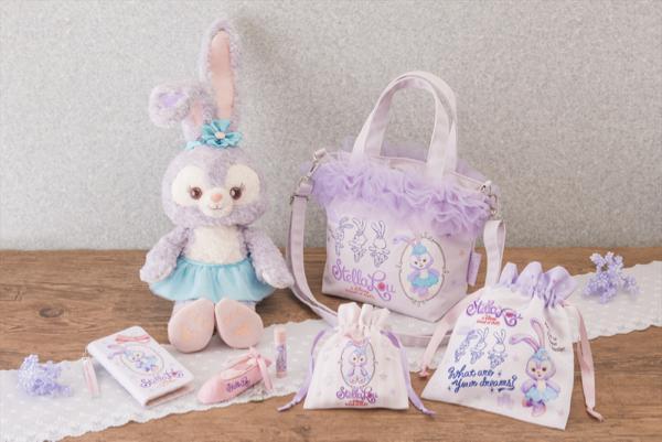 東京ディズニーシー®で話題のステラ・ルーの新商品が発売! ラベンダー&ピンクのやわらかな色合い、サテンのリボンやチュールが愛らしい