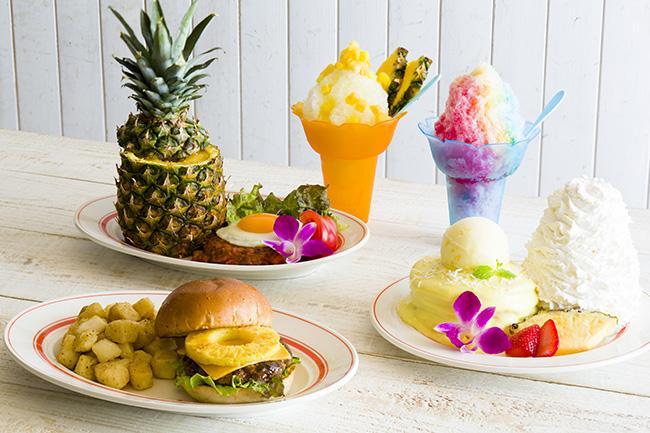パンケーキで有名な「Eggs 'n Things」から パイナップルづくしの夏限定メニュー登場!