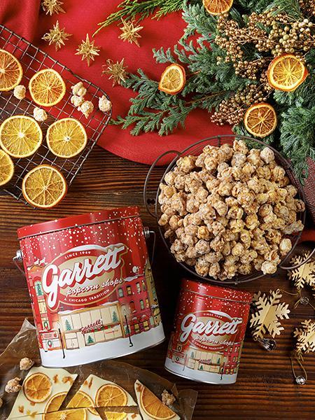 「ギャレット ポップコーン ショップス®」から クリスマスシーズンを盛り上げる新フレーバー登場! 雪降る街をイメージした限定デザイン缶も同時発売