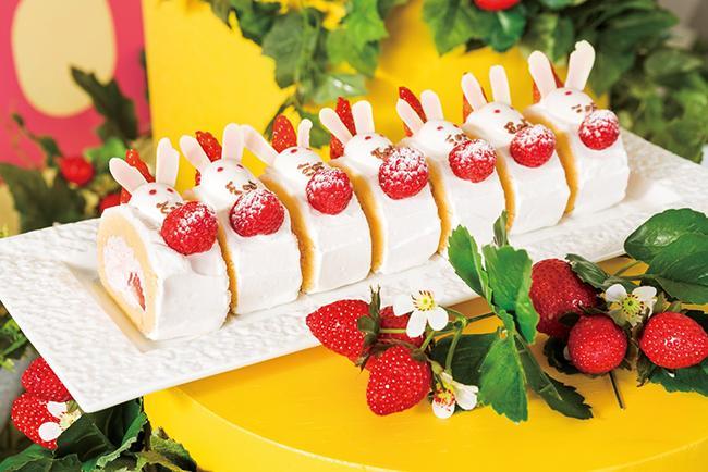 ヒルトン東京ベイで、おとぎ話のヒロインになれるデザートブッフェが開催♡ デザート約25種類+軽食10種類が食べ放題の「ストロベリー・フィールド」