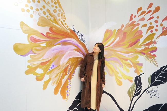 原宿・表参道にカップルで楽しめるインスタ映えスポットが期間限定登場! 2月11日にライブペインティングイベントが開催
