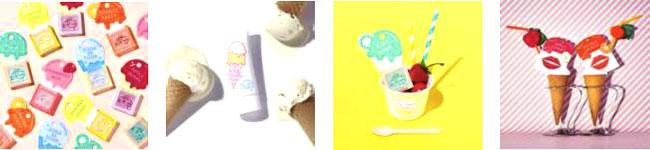 POPでキュートなアイスクリームが目印! 資生堂の期間限定ブランドの開発プロジェクトコスメティックプレスの第一弾は、アイスクリームパーラーコスメティックス♡