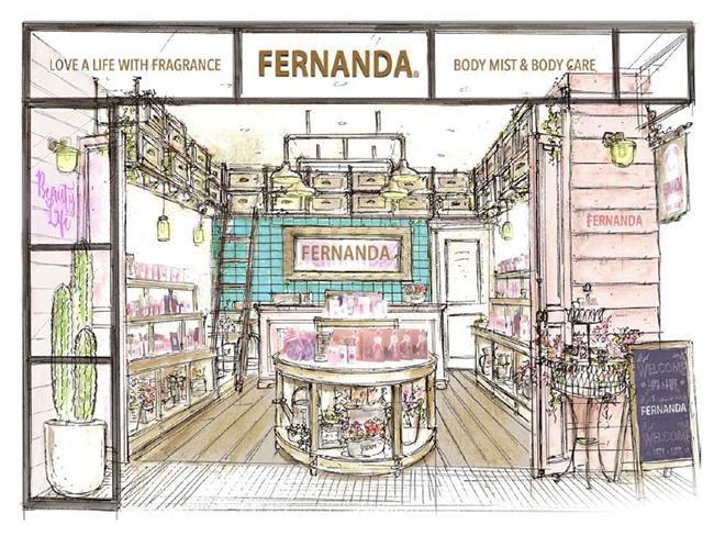 ブラント初となる実店舗、フェルナンダ ルミネエスト新宿店がオープン! ノベルティや限定アイテムも♪