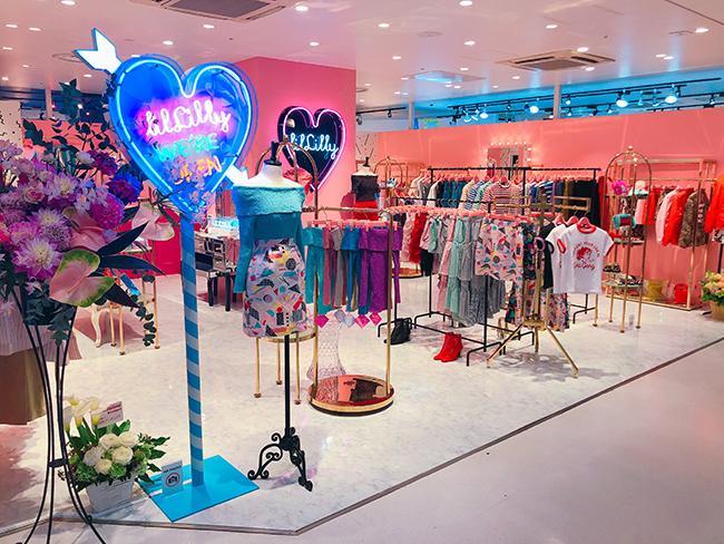 リルリリー トーキョーが、ラフォーレ原宿B0.5階に移転&リニューアルオープン! 直営店限定アイテムも発売