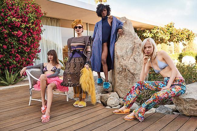 UGG®の春夏コレクションはカルフォルニアのビーチ! フラッフサンダルやビーチ サンダルコレクションが発売