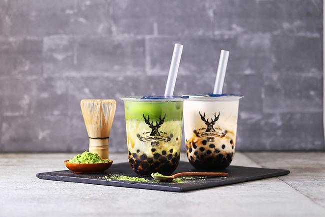 台湾発の本格派ティースタンドTHE ALLEYに初めての抹茶メニュー! 黒糖タピオカシリーズに、黒糖抹茶ラテが仲間入り♪
