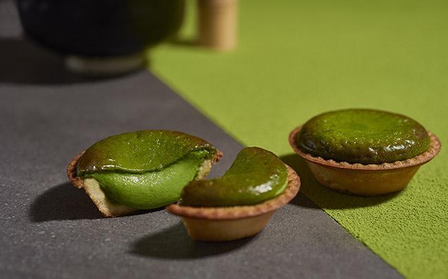 京都の老舗日本茶専門店「一保堂」の上質な抹茶を使用! チーズタルト専門店「ベイク チーズタルト」が 「焼きたて抹茶チーズタルト」を全国展開