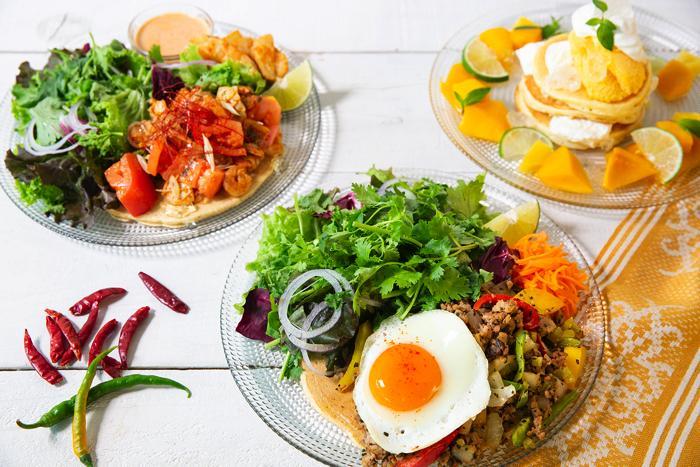 J.S. PANCAKE CAFEの夏フェア、マンゴー、パクチーなどアジアンなメニュー6種類が登場