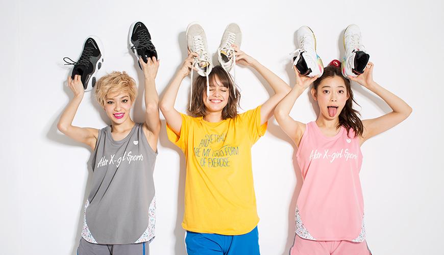 X-girl Sports x AKTR、お洒落なガールズバスケウェアがデビュー!