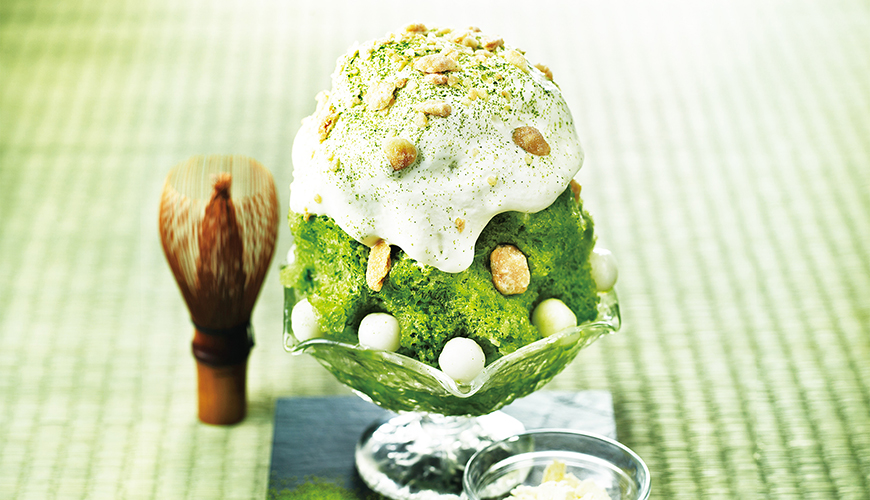 PABLO's new shaved ice dessert hits the menu — look out for the Shaved Ice Uji Matcha Cheese Tart!