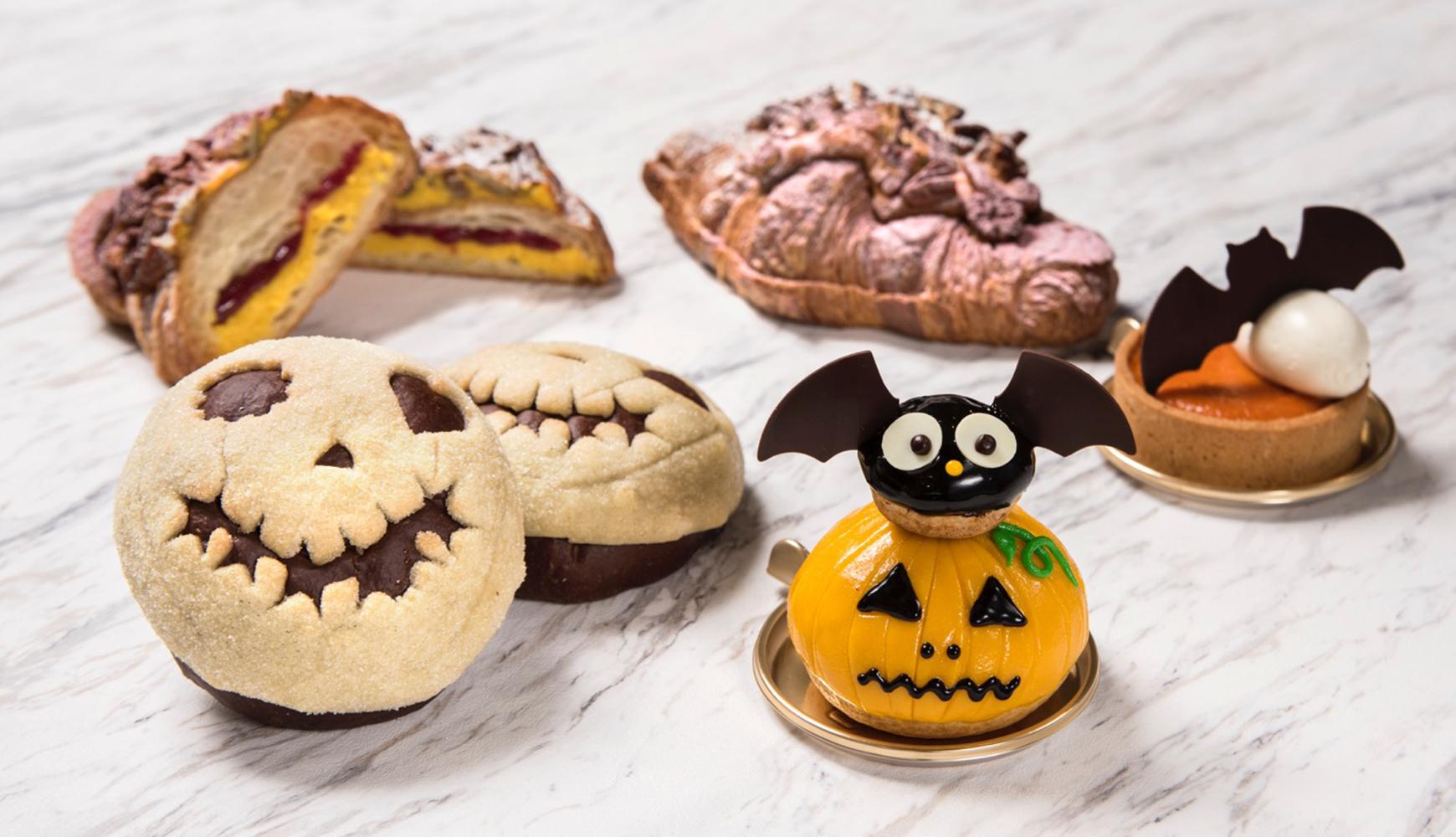 「ドミニクアンセルベーカリー」ハロウィンスイーツが登場! かぼちゃづくしのパン&スイーツ